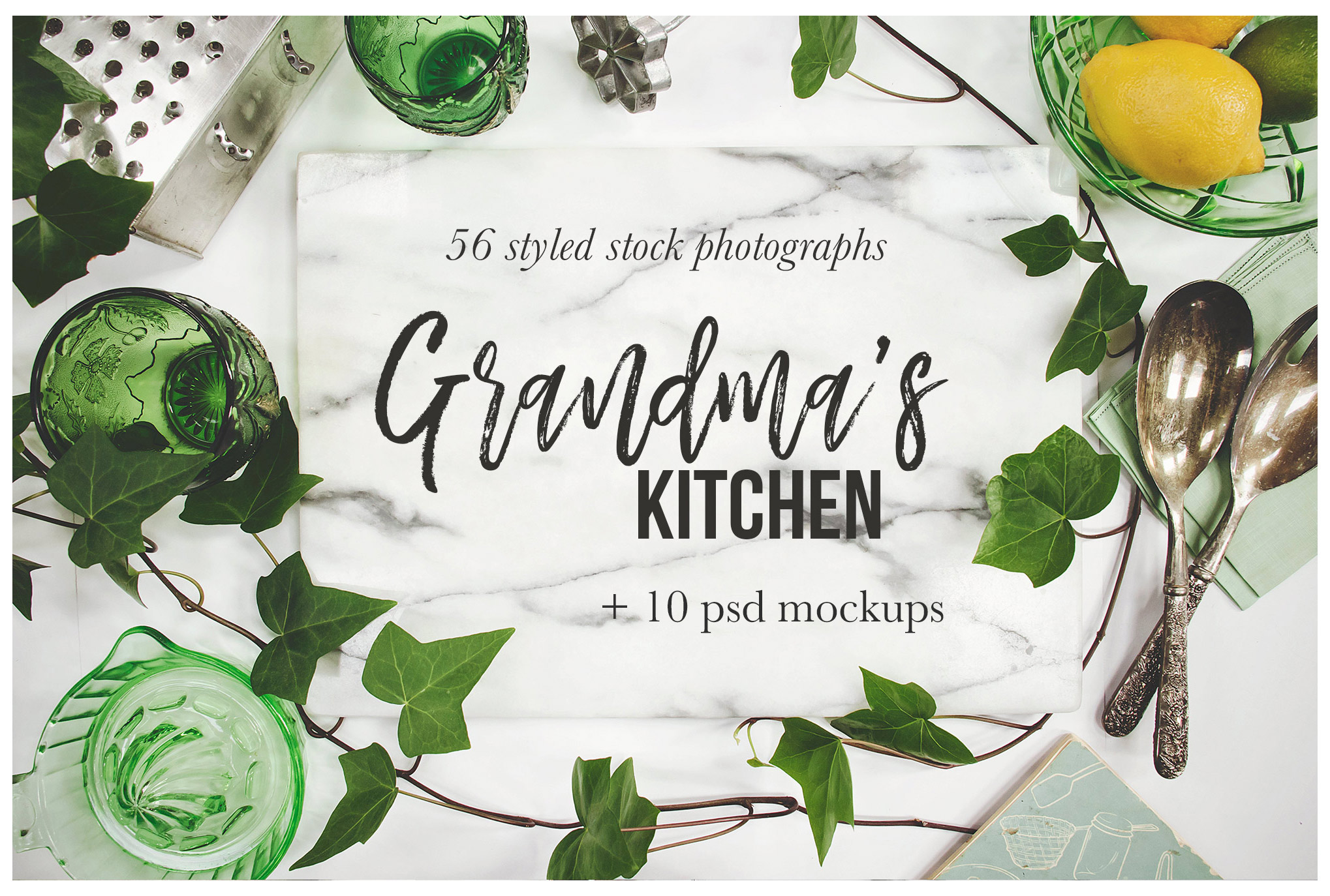 Grandma's Kitchen Stock Photography Bundle example image 1