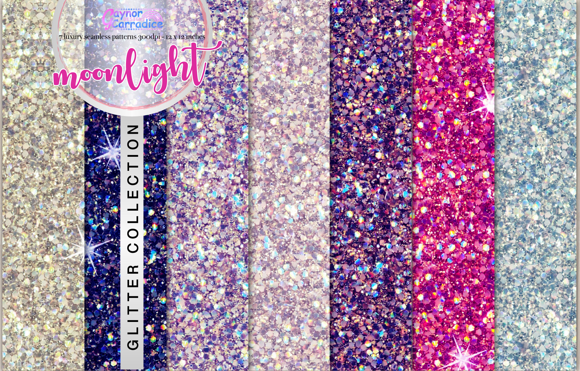 Moonlight glitter collection example image 1