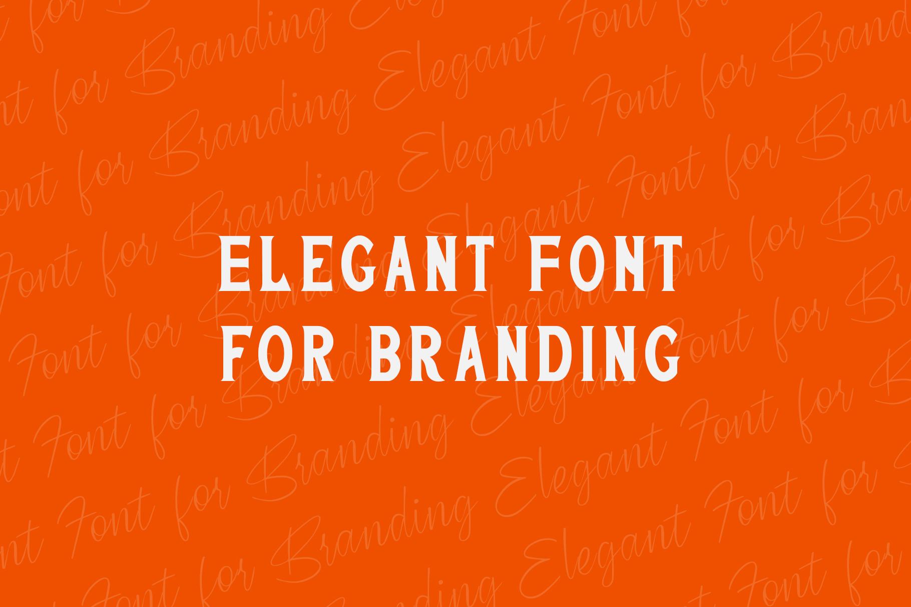 San Francisco Street Font Duo example image 8