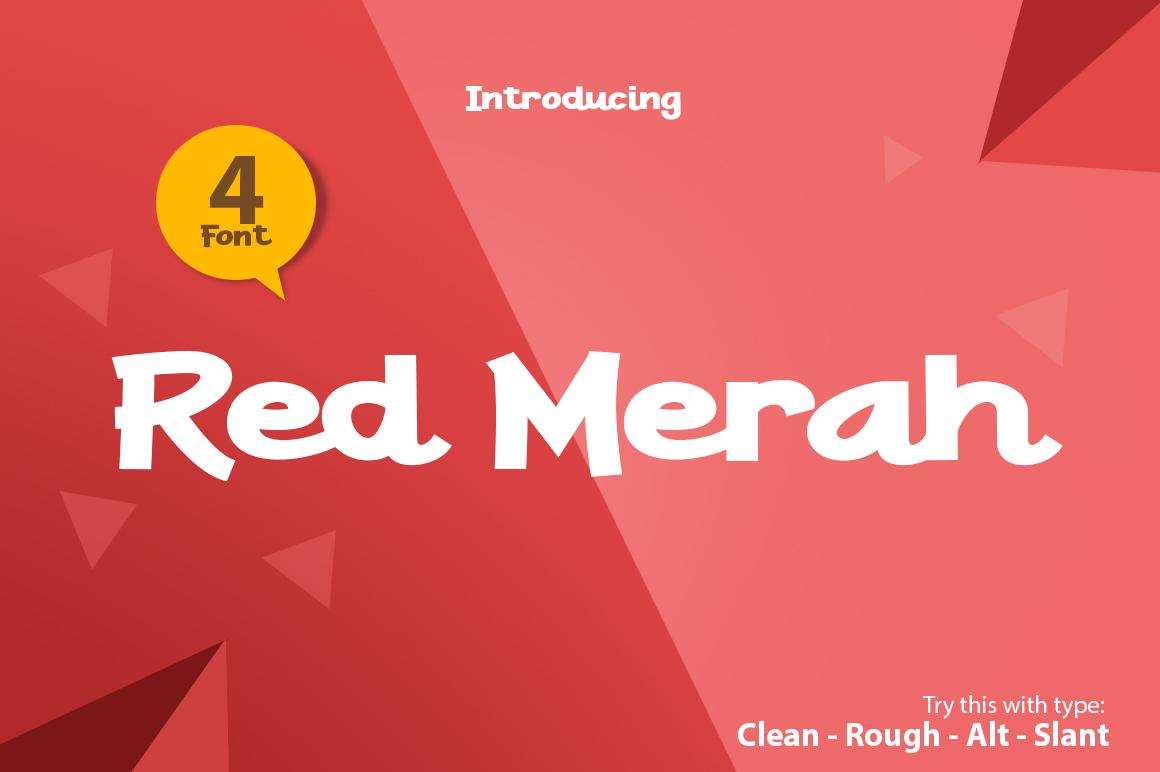 Red Merah example image 1