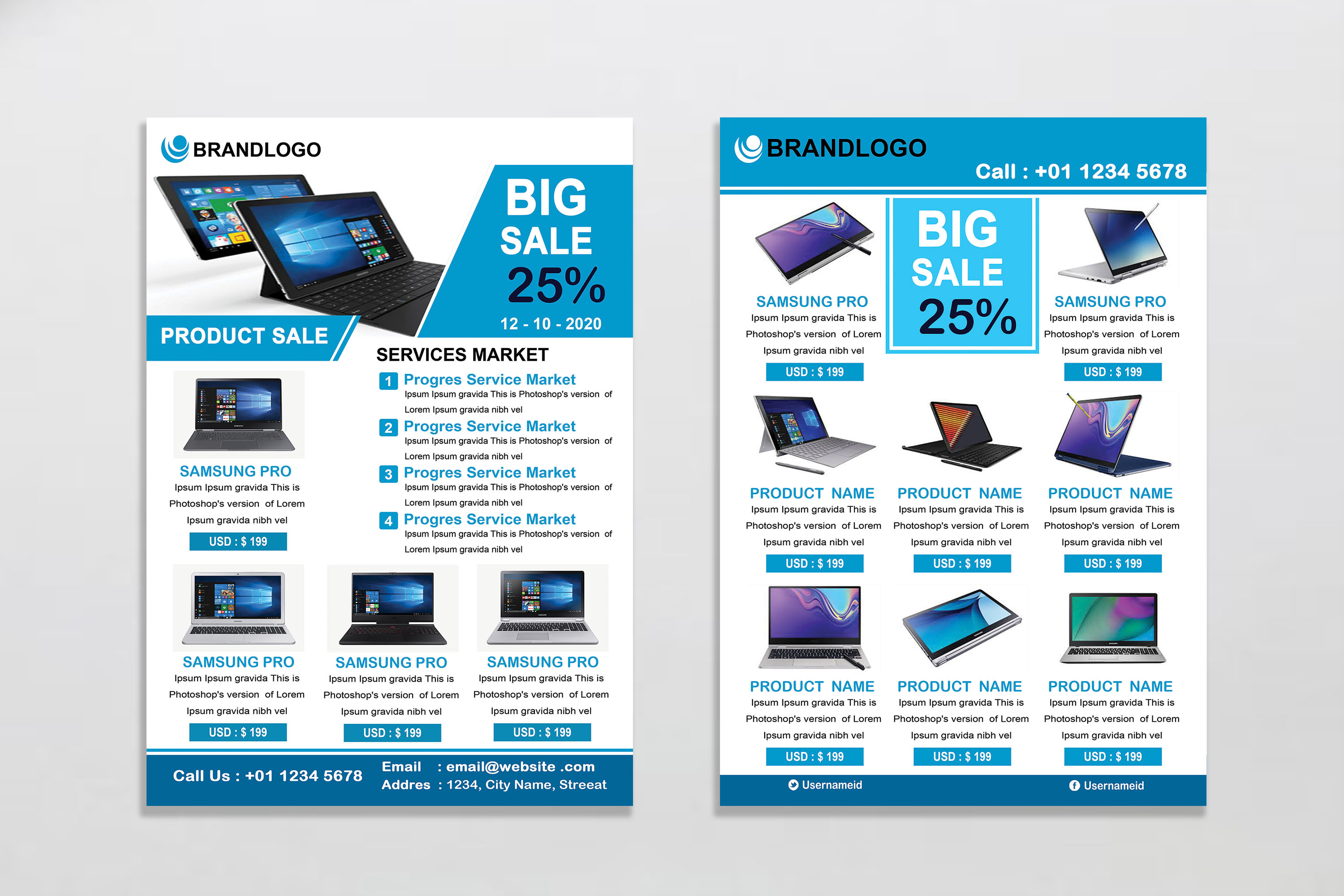 Product Promotion Flyer example image 2