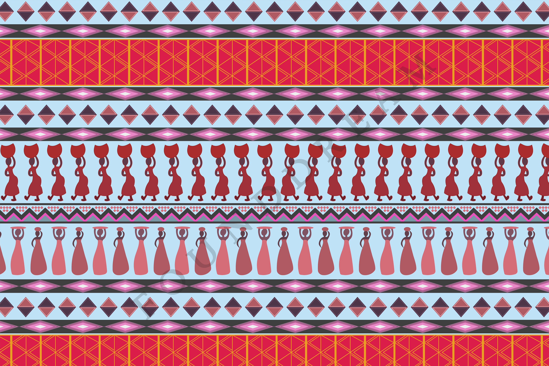 Tribal Digital Paper example image 4