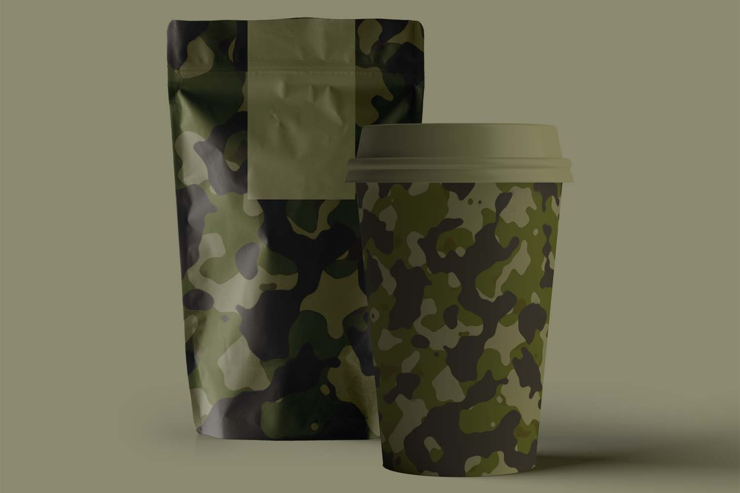 40 Alternative Camouflage Paper Designs example image 27