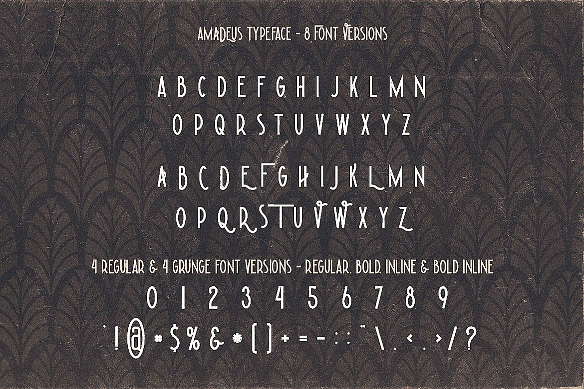 Amadeus - Display Font example image 2