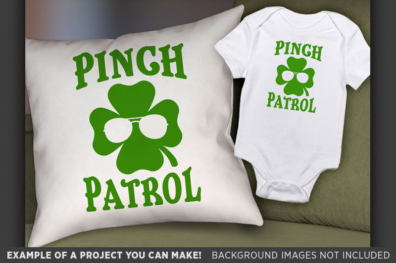Pinch Patrol Shirt SVG File - St. Patricks Day Shirt - 1082 example image 2