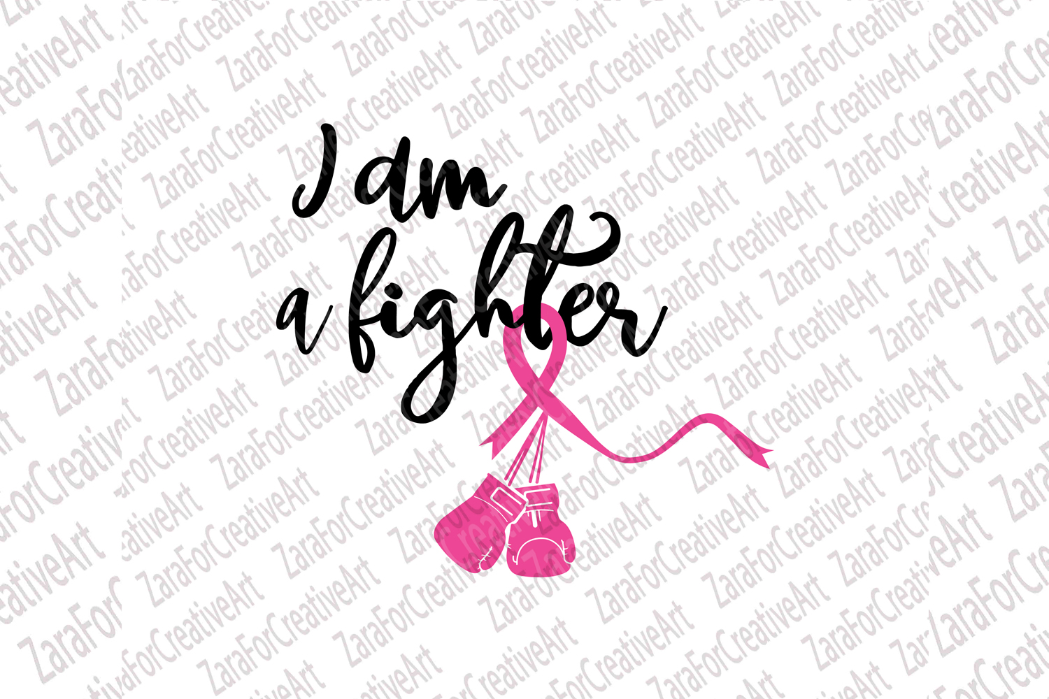 I am a Fighter SVG example image 1