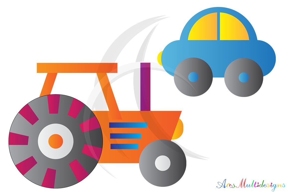 Transportation graphic and illustration / Transportation svg / transportation clip art SVG / vector/ hand drawn doodle / Eps / vehicle clipart example image 3