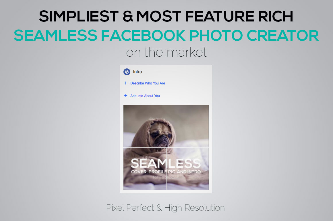 Seamless Facebook Photo Creator example image 3