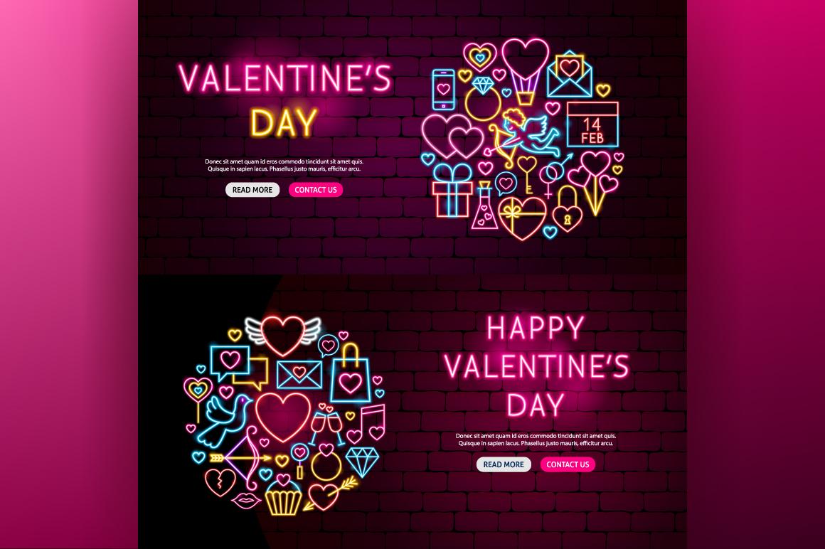 Valentine's Day Neon example image 6