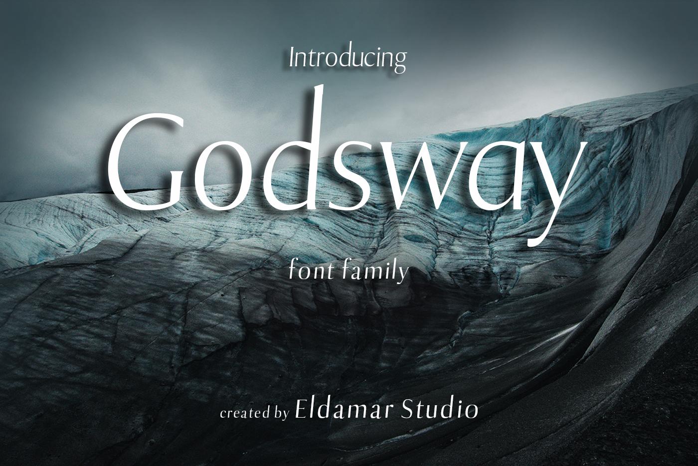 Godsway Font example image 1