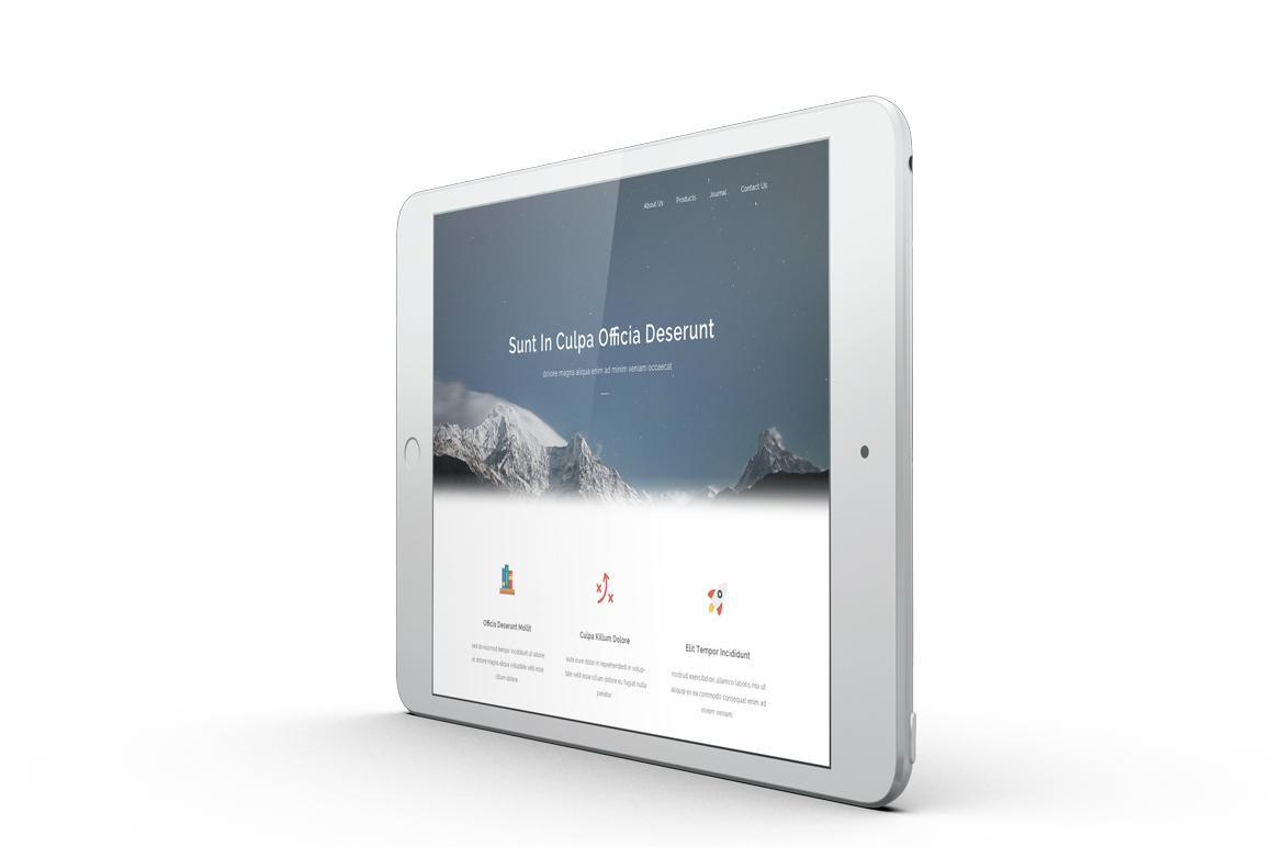 iPad Mini 4 Mockup example image 4