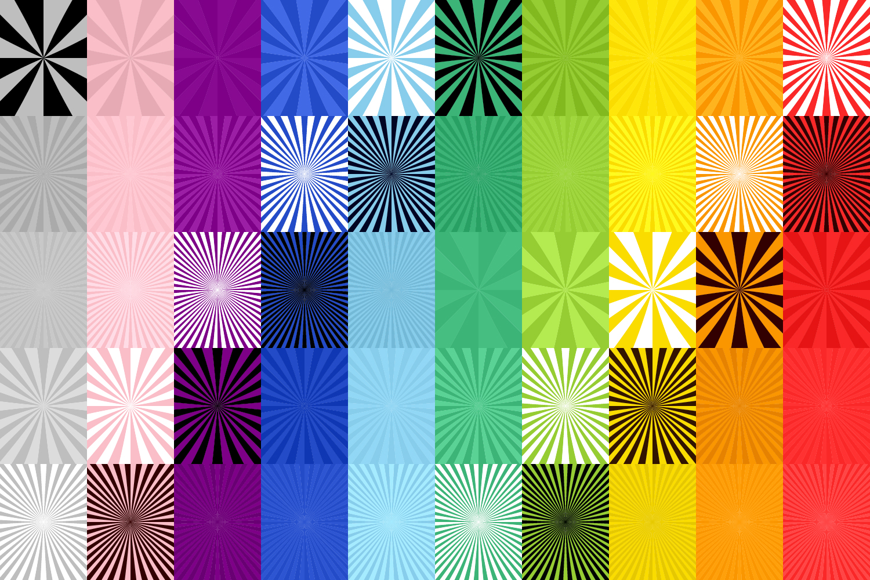 50 Burst Backgrounds AI, EPS, JPG 5000x5000 example image 4