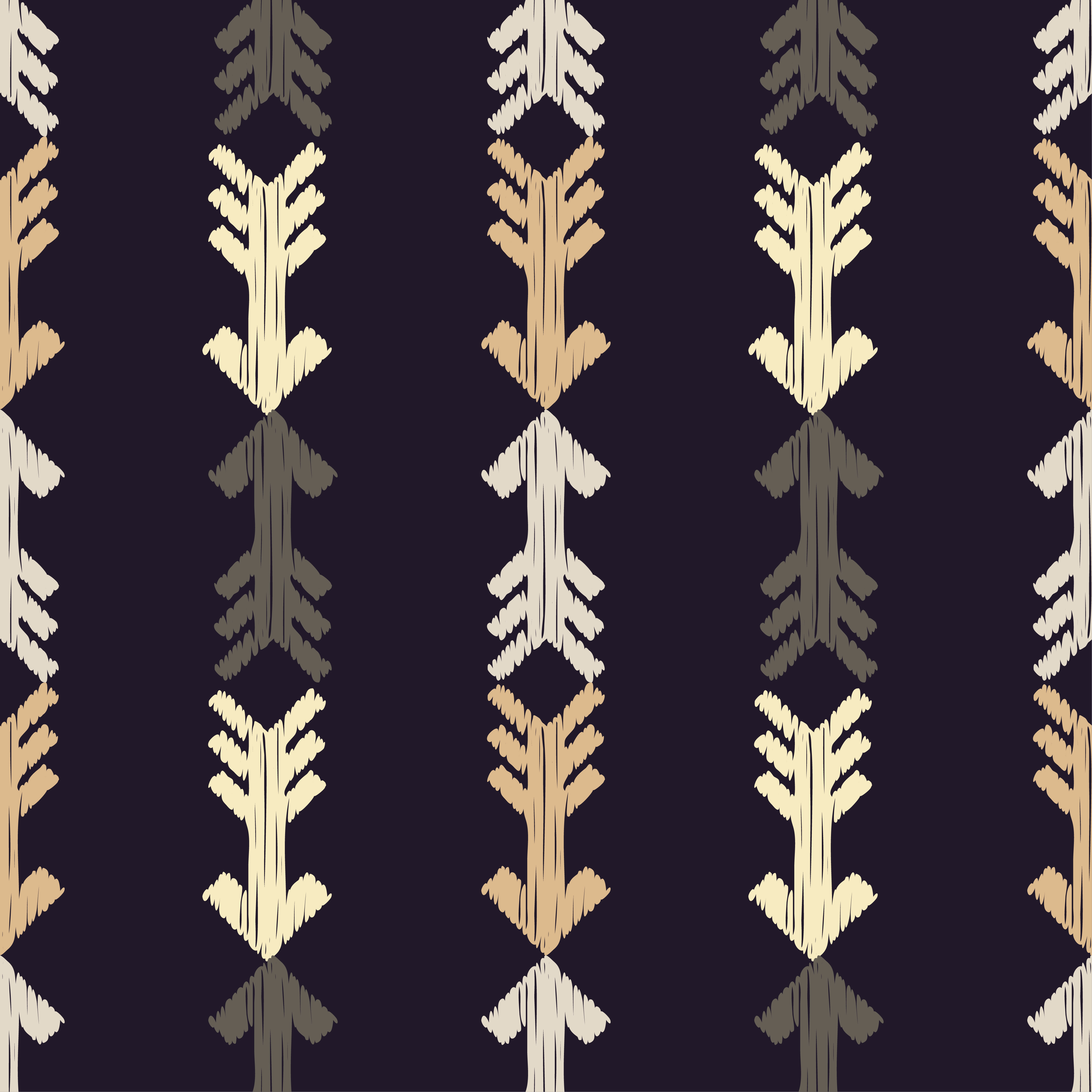 6 Ethnic boho seamless pattern. Arrows scribble texture.  example image 2