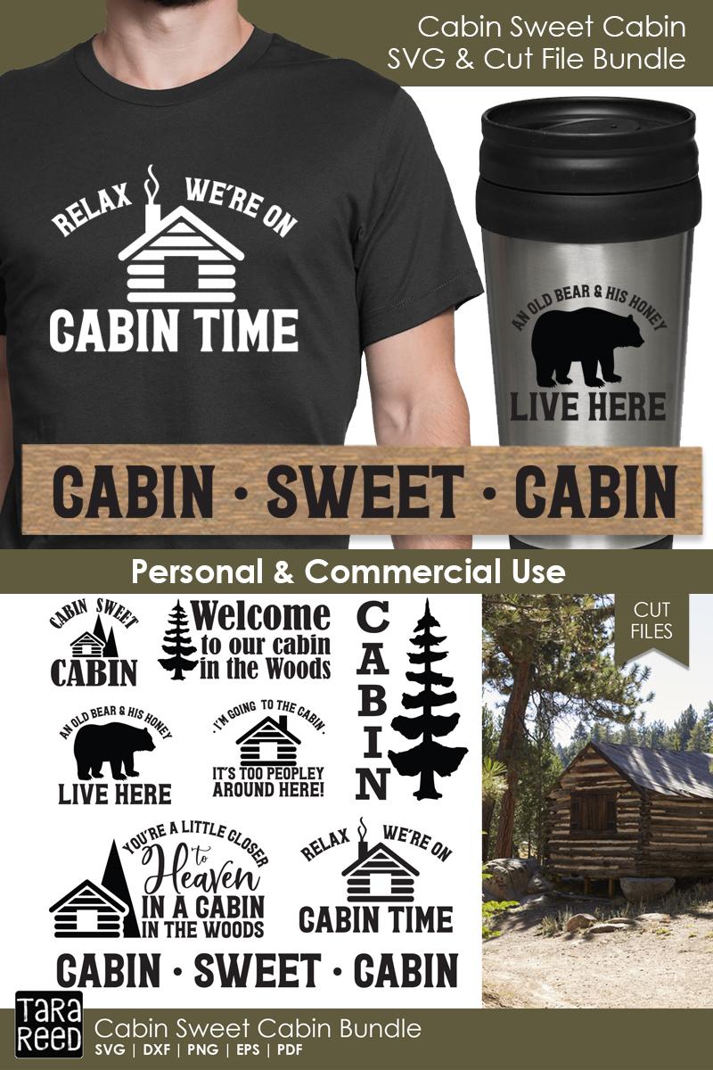 Cabin Sweet Cabin Bundle example image 2