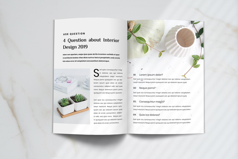 Futura - Interior Magazine Template example image 7