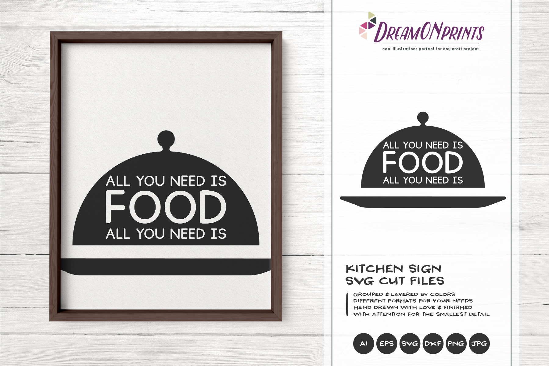 Kitchen SVG Bundle - Kitchen Sign Making SVG example image 10