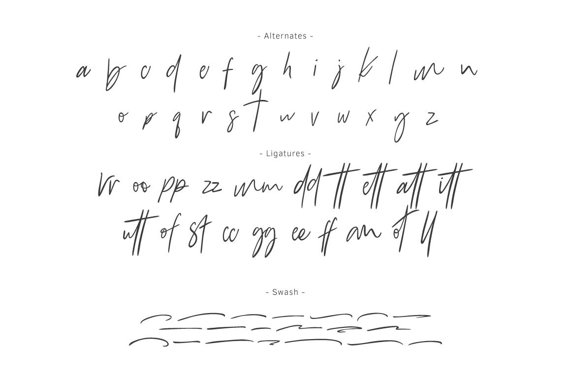 Bammantoe Typeface example image 8