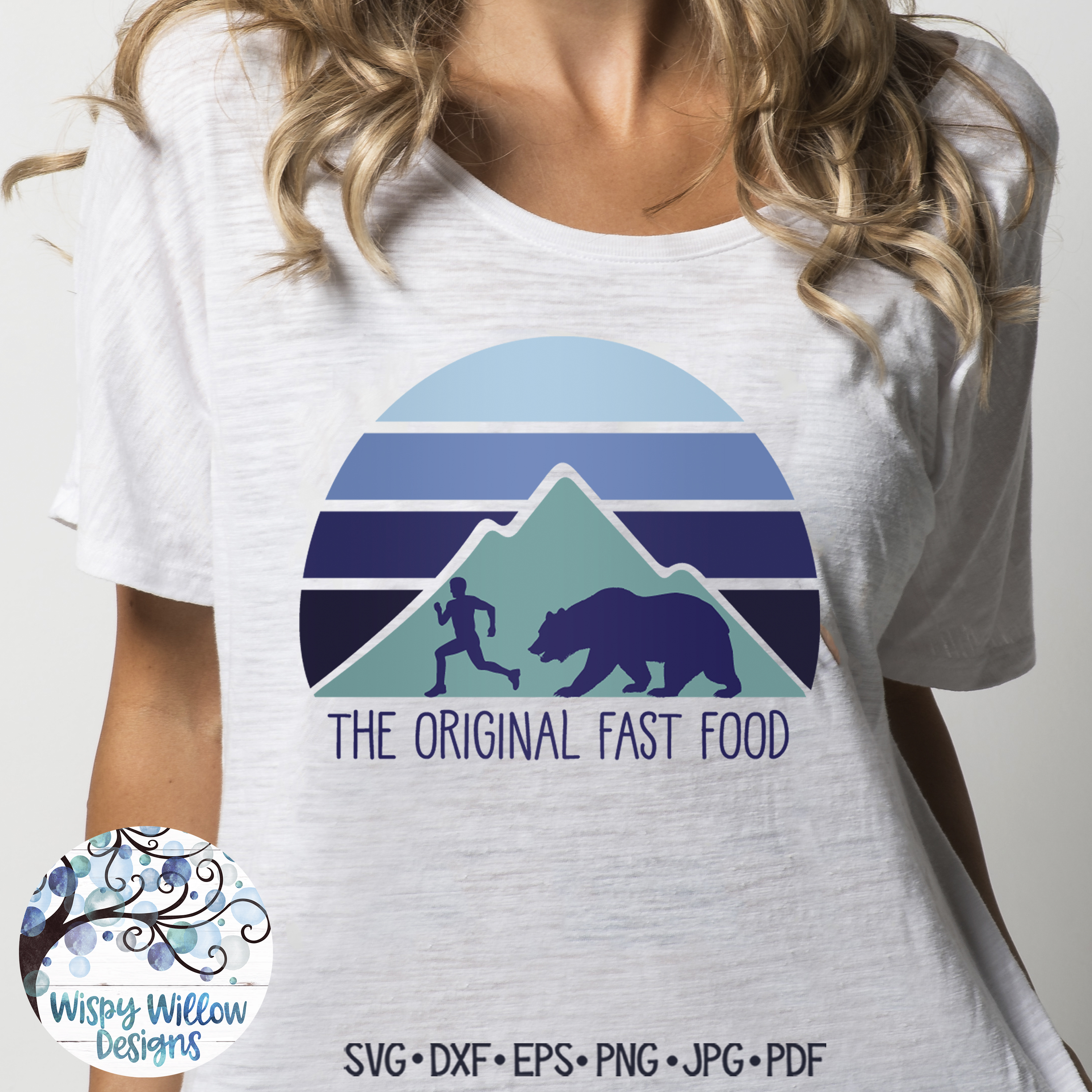 The Original Fast Food SVG   Funny Camping SVG Cut File example image 5