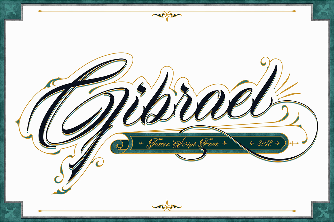 Gibrael | Font example image 1