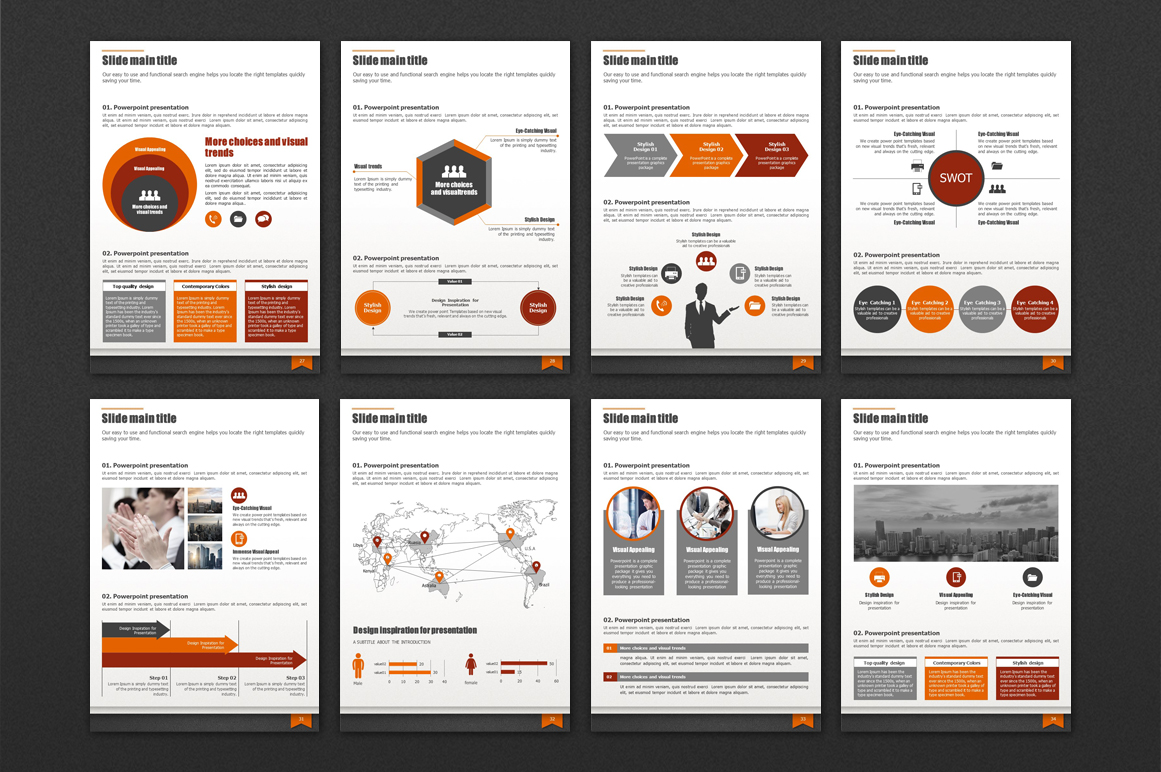 Modern Business Template Vertical example image 5