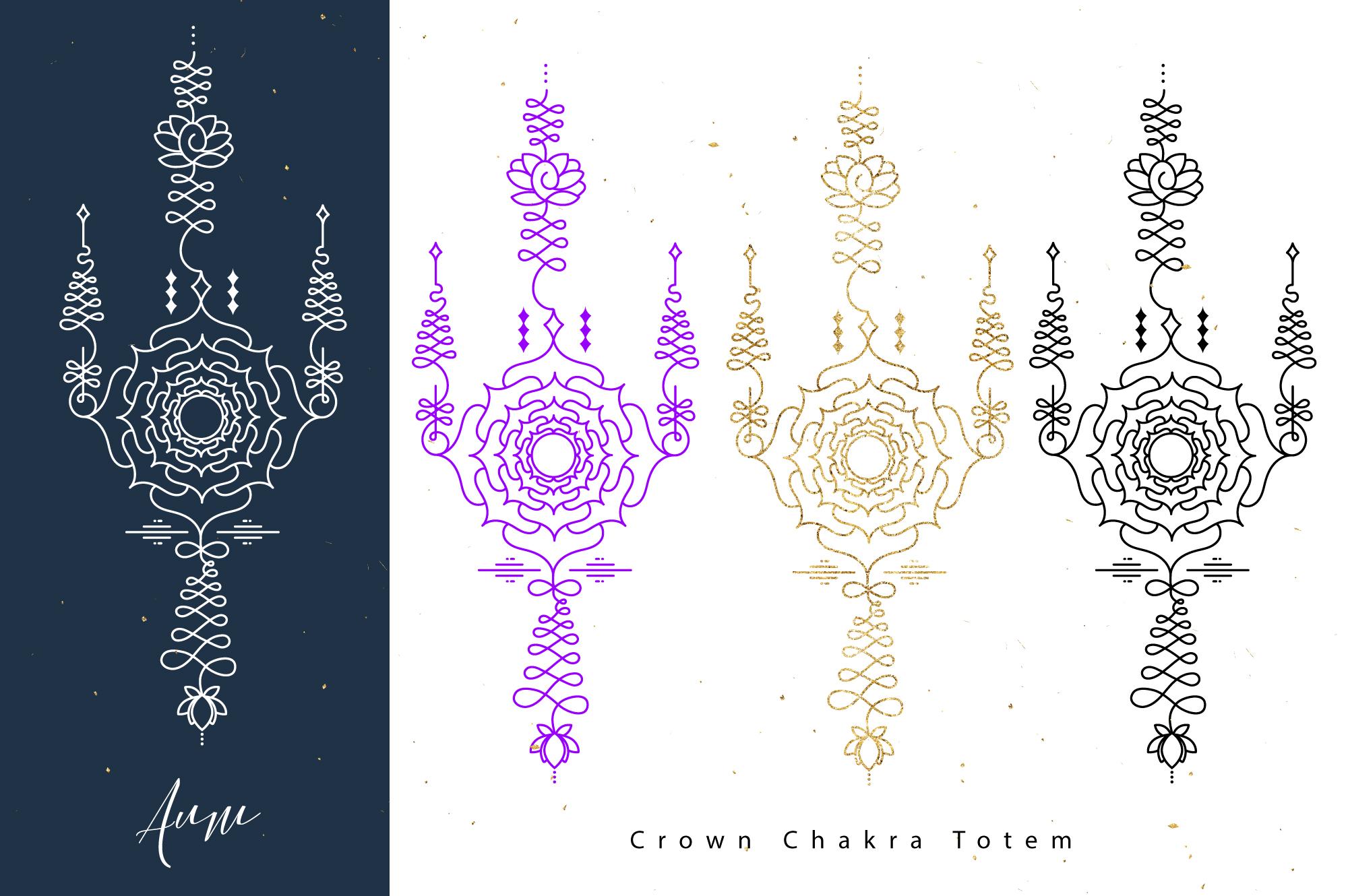 Chakras Totems example image 7