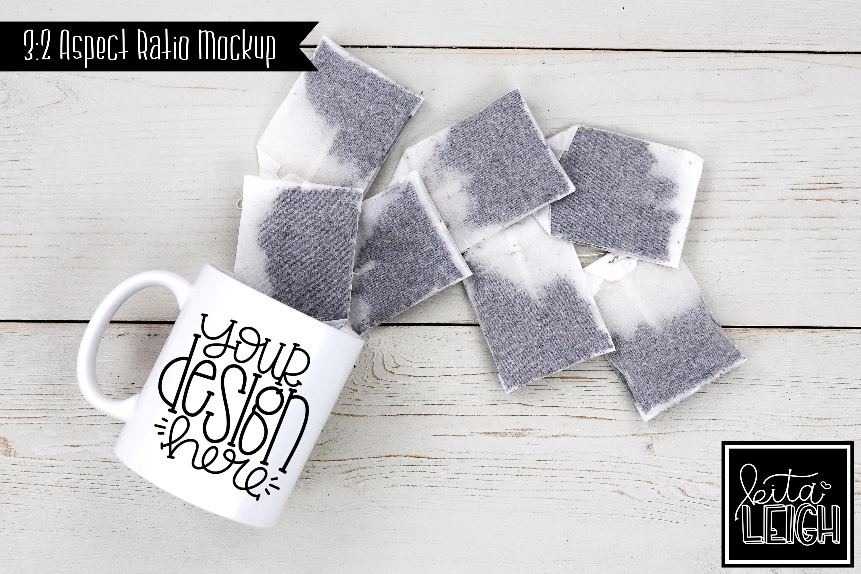 11 oz Mug Mockup with Tea example image 1