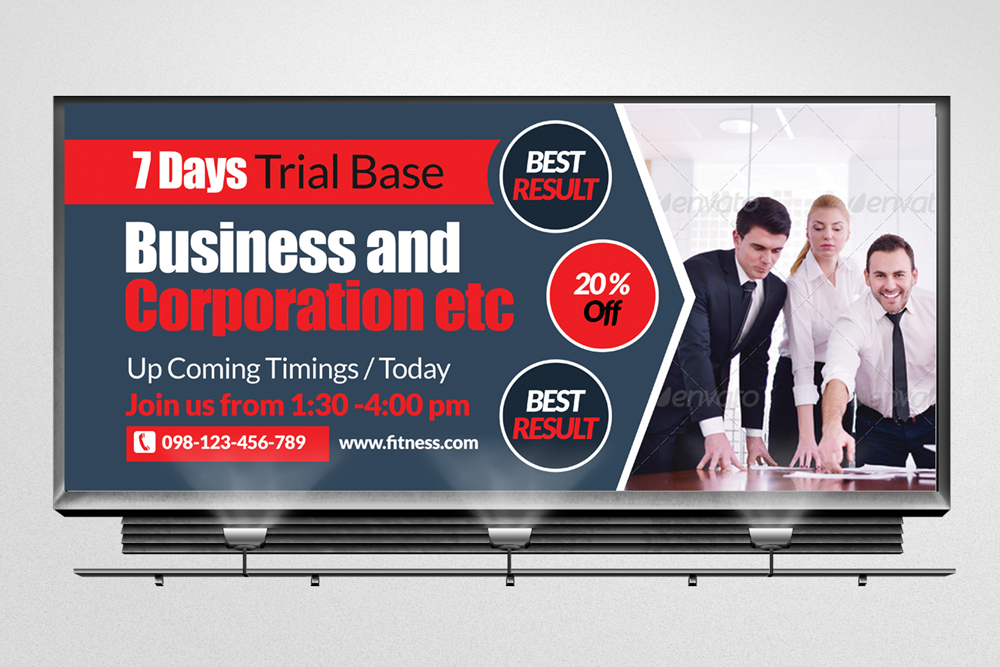 Business Agency Billboard Banners example image 3