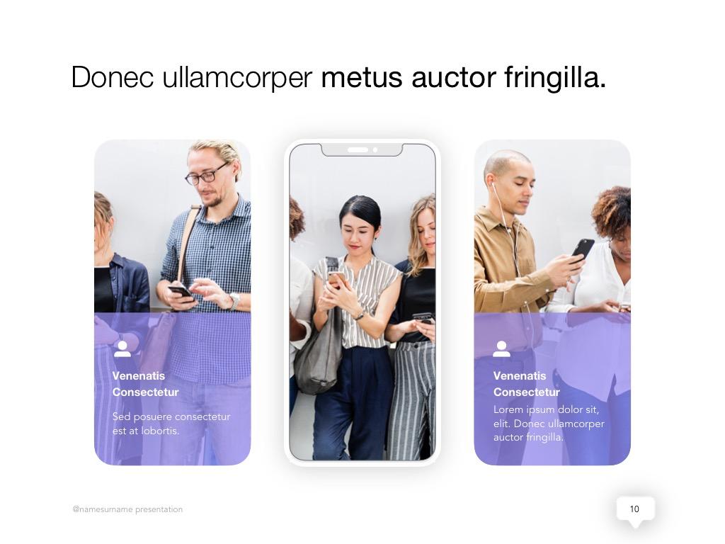 Influencer Marketing Google Slides Template example image 11