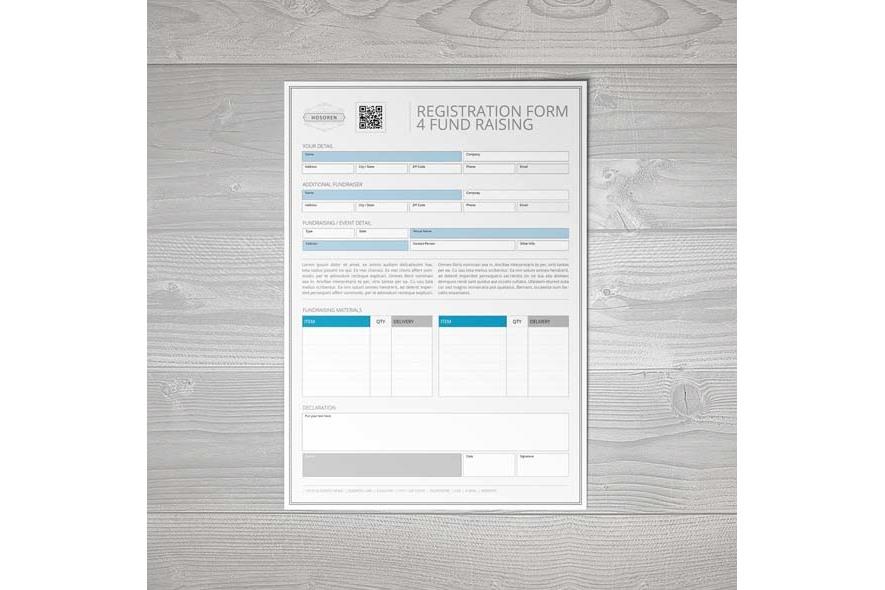Registration Form 4 Fund Raising example image 2