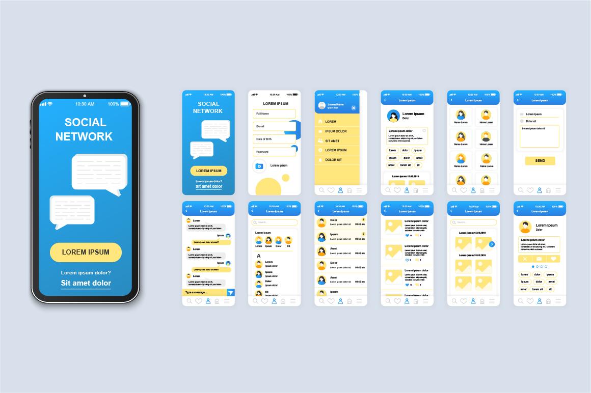 Bundle Mobile App UI Kit Screens example image 11