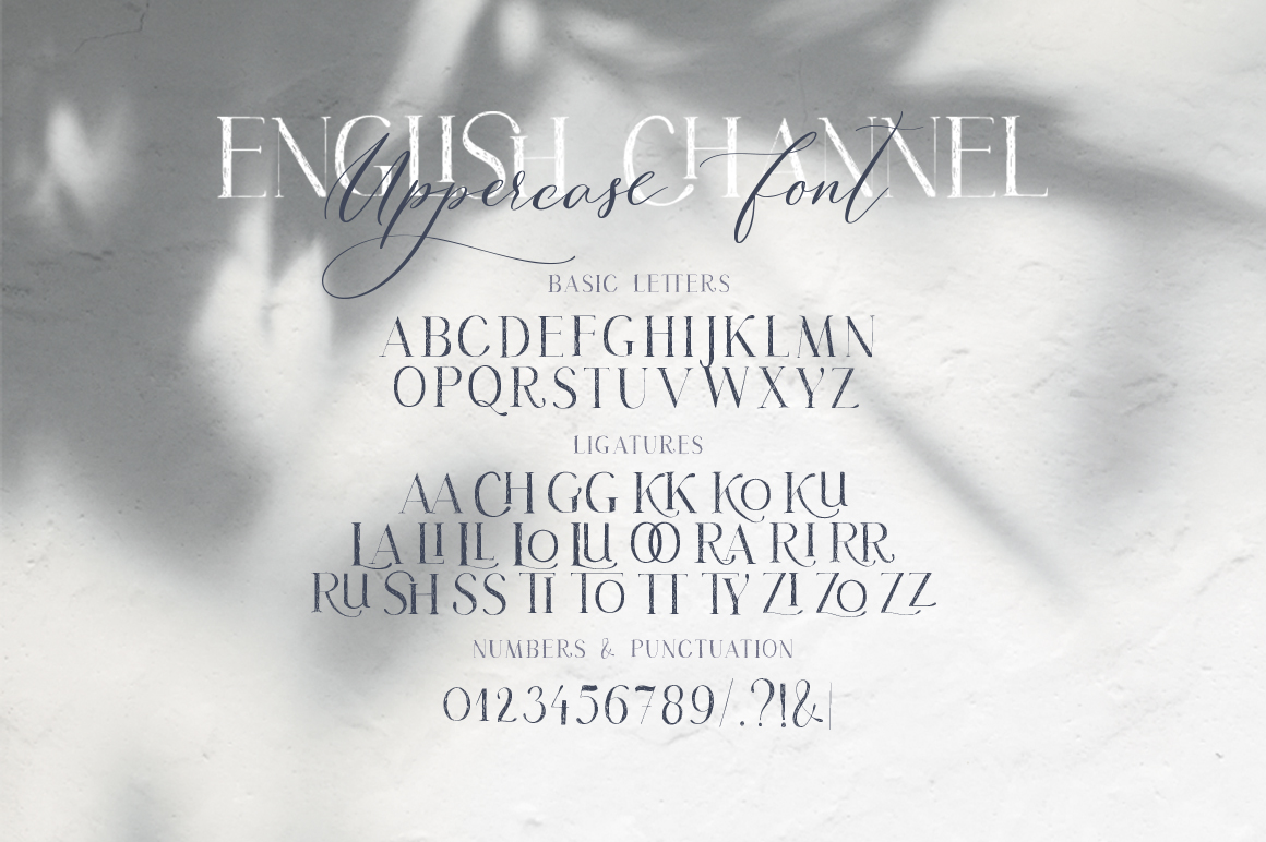 50 Off! English Channel. Duo Font example image 15
