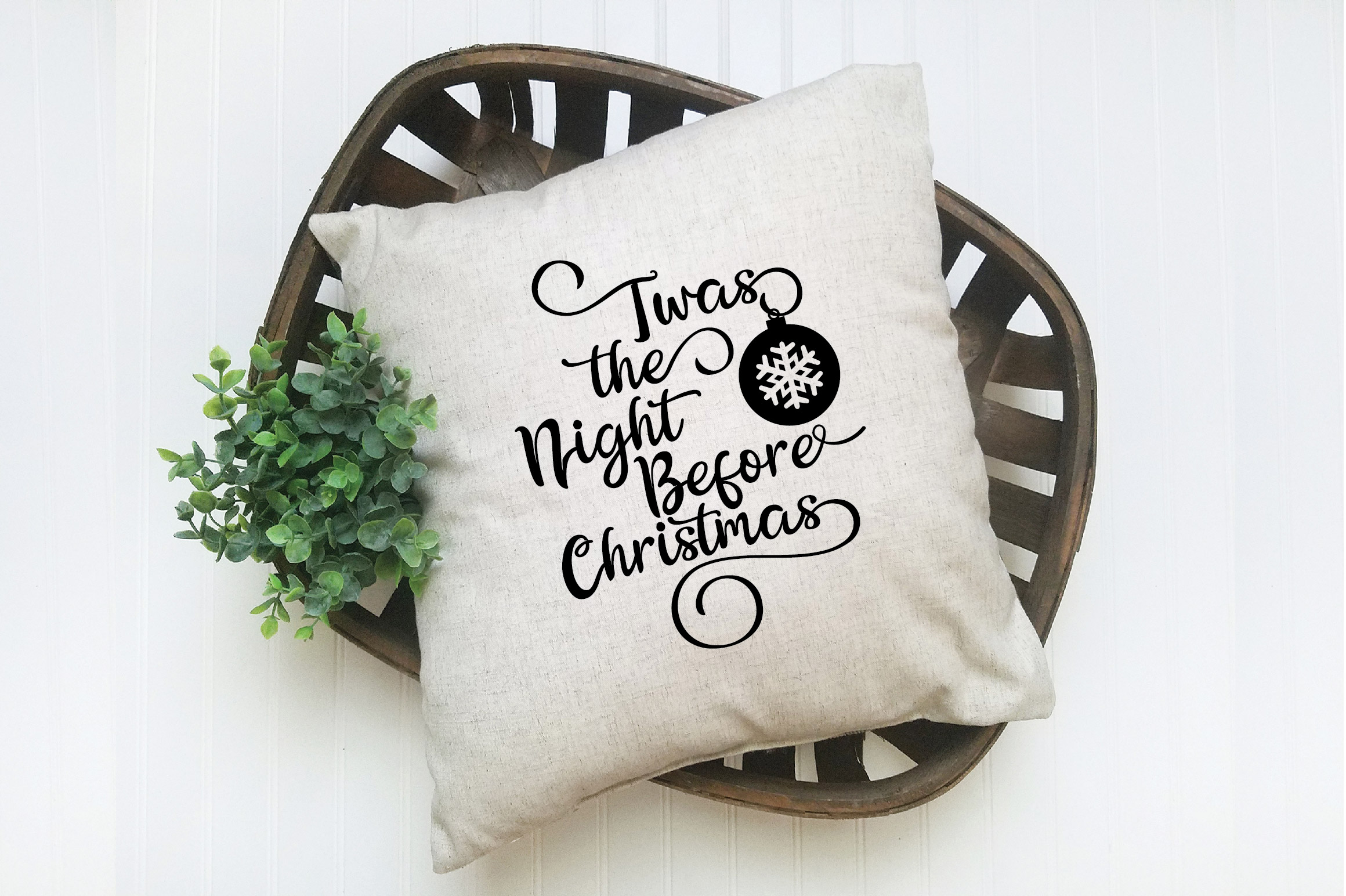 Christmas SVG Cut File - The Night Before Christmas SVG DXF example image 7