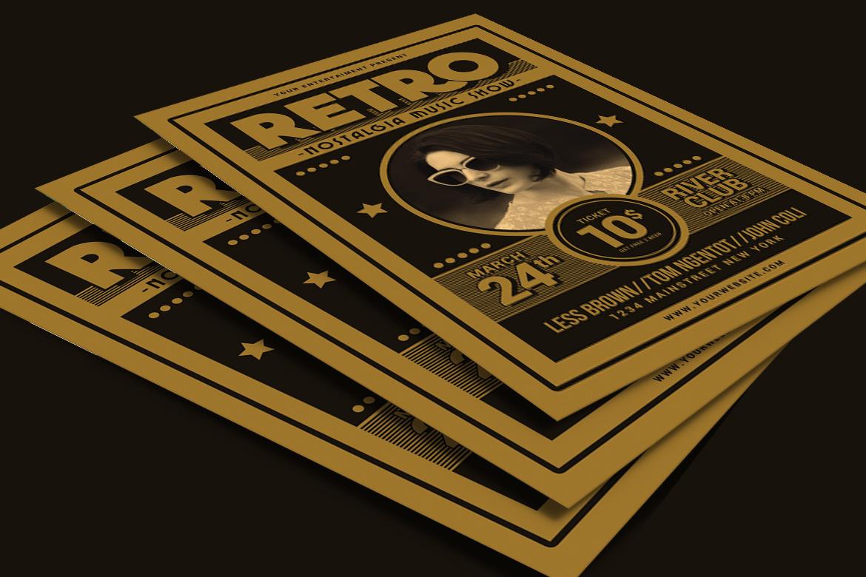 Retro Music Flyer example image 3