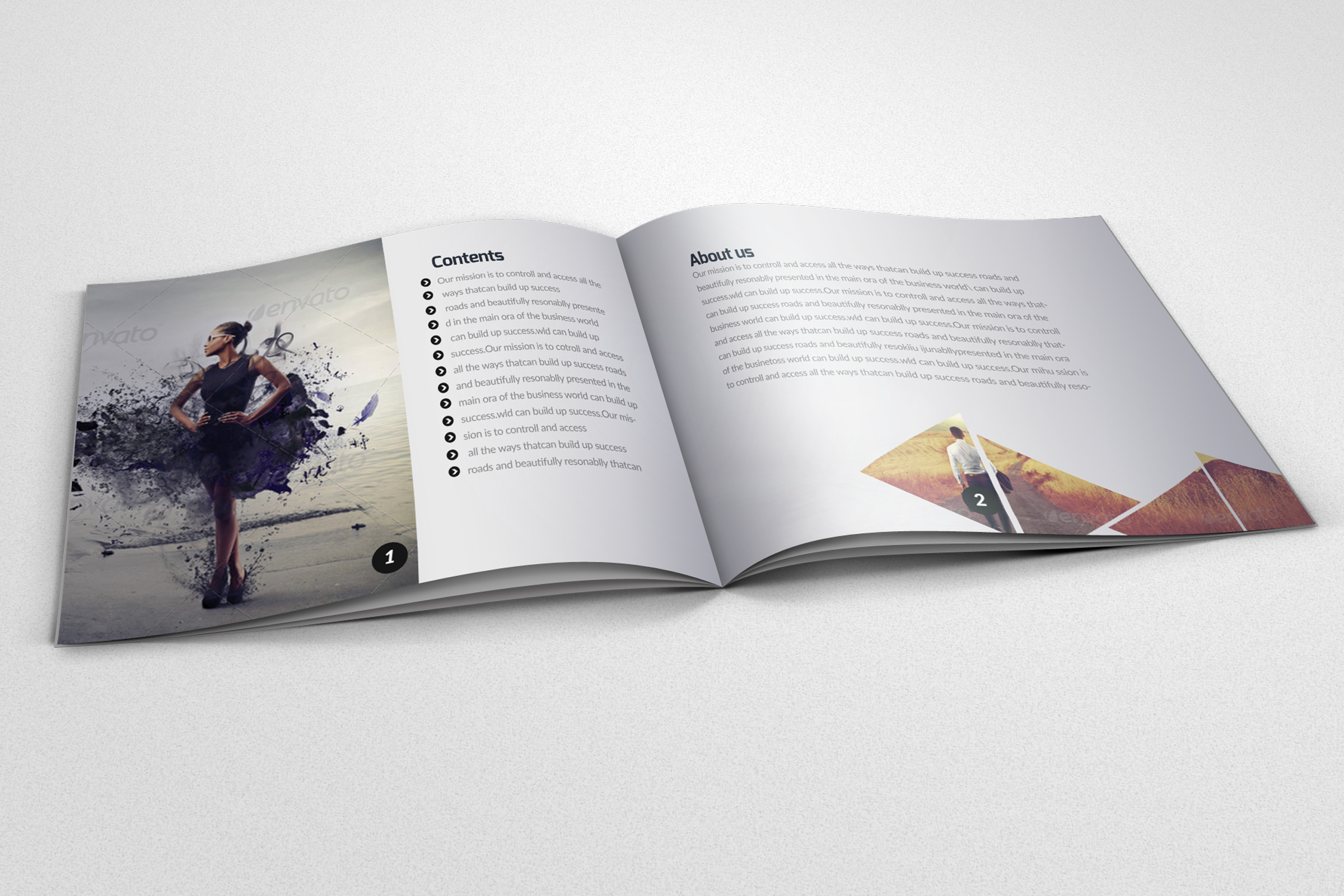 20 Pages Catalogue Business Bifold Brochure example image 2