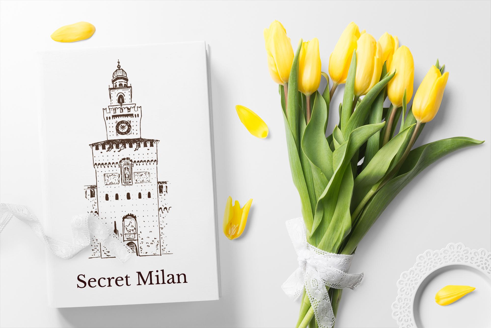 Set of Milan sketches example image 3