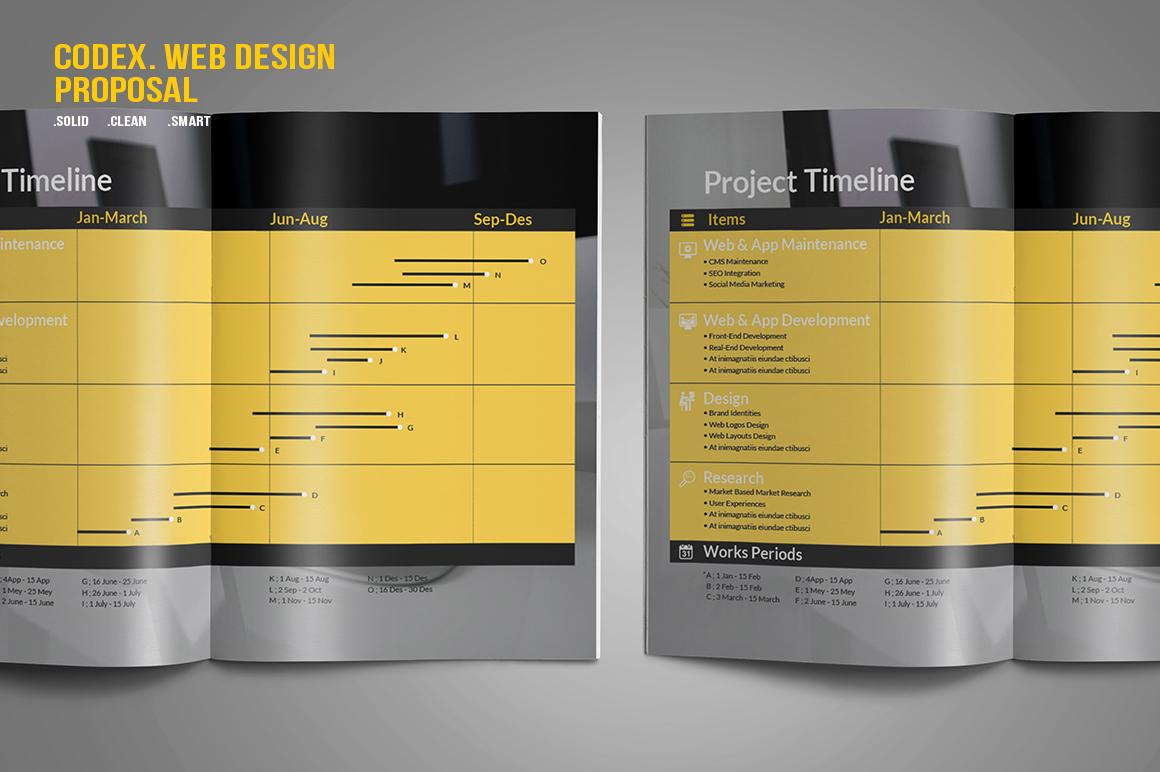 CODEX. Web Design Proposal example image 3