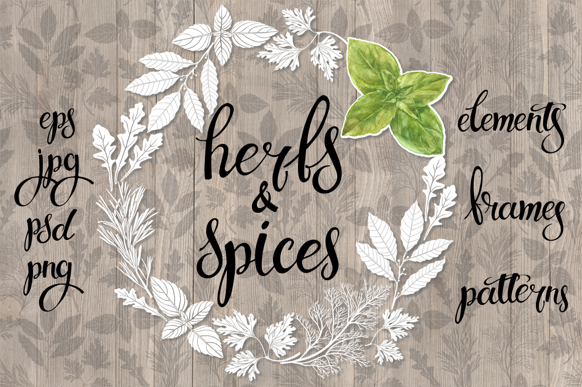 Spices and herbs example image 1