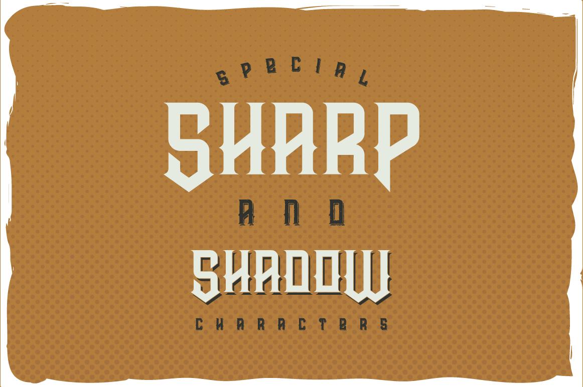 Prohibited typeface example image 3