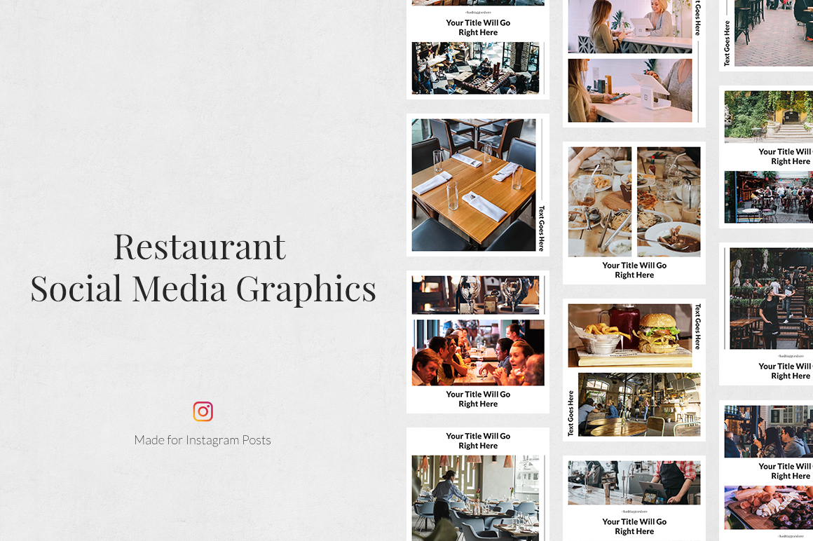 Restaurant Instagram Posts example image 1