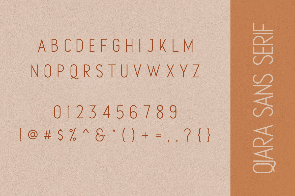 Qiara Collections Font Duo example image 12