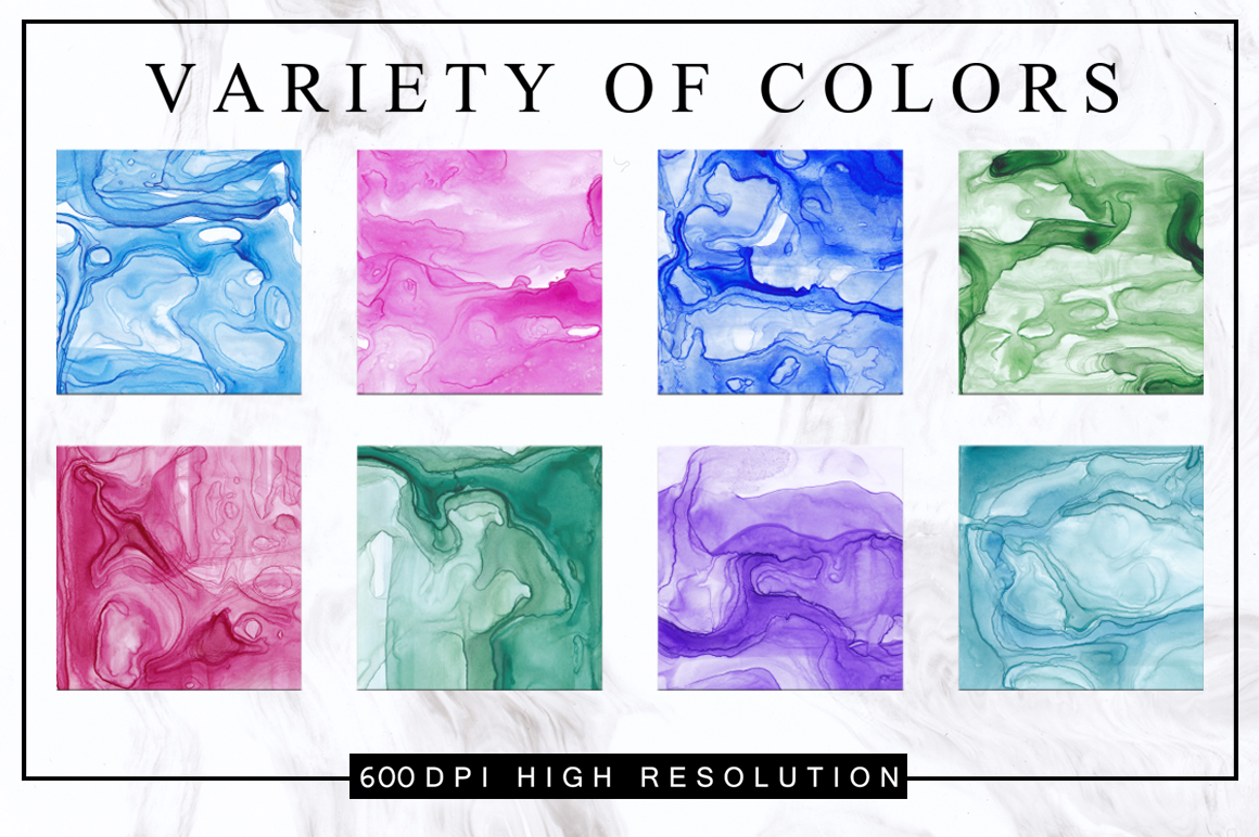 MODERN INK - Abstract Textures Pack example image 5