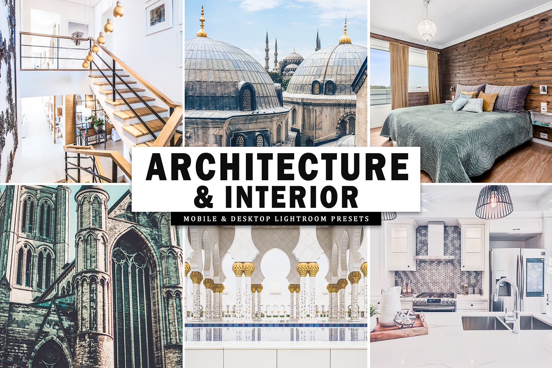 Architecture & Interior Mobile & Desktop Lightroom Presets example image 1