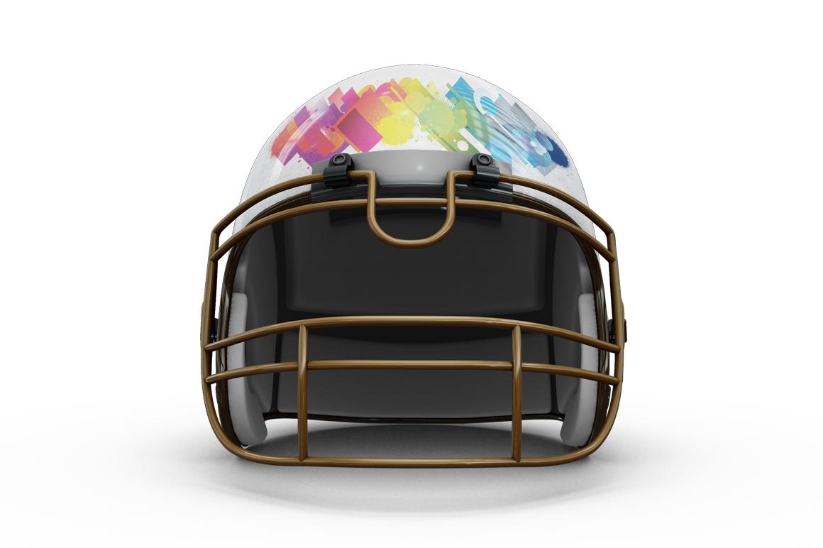 Football Helmet Mockup example image 6