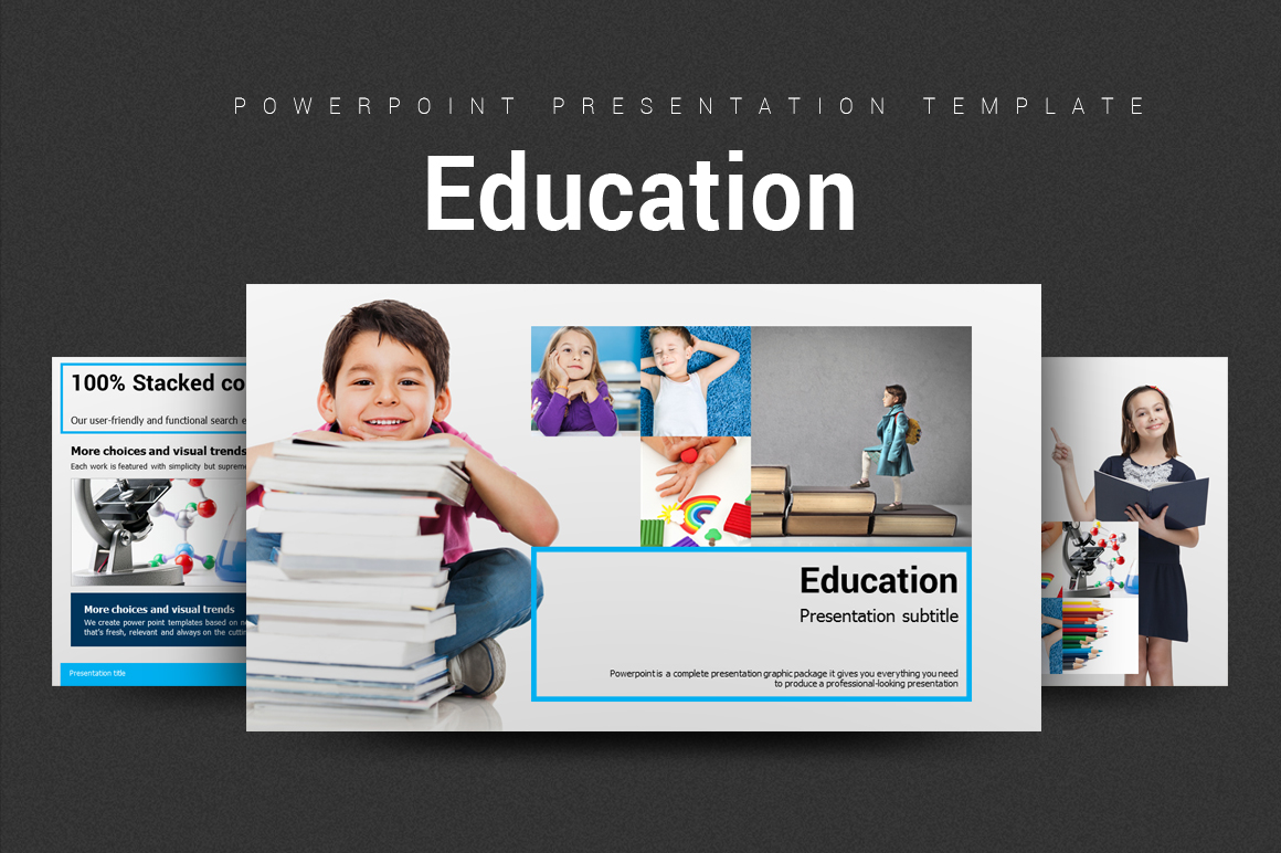 Education PowerPoint Template example image 1