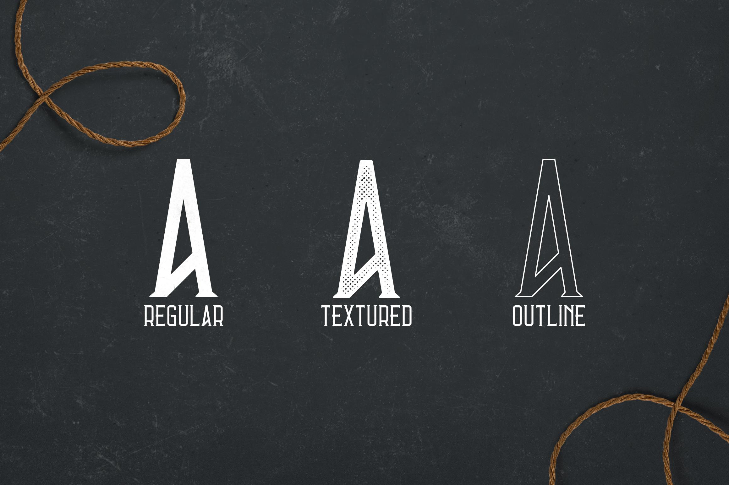 Errorist - Vintage Typeface example image 2