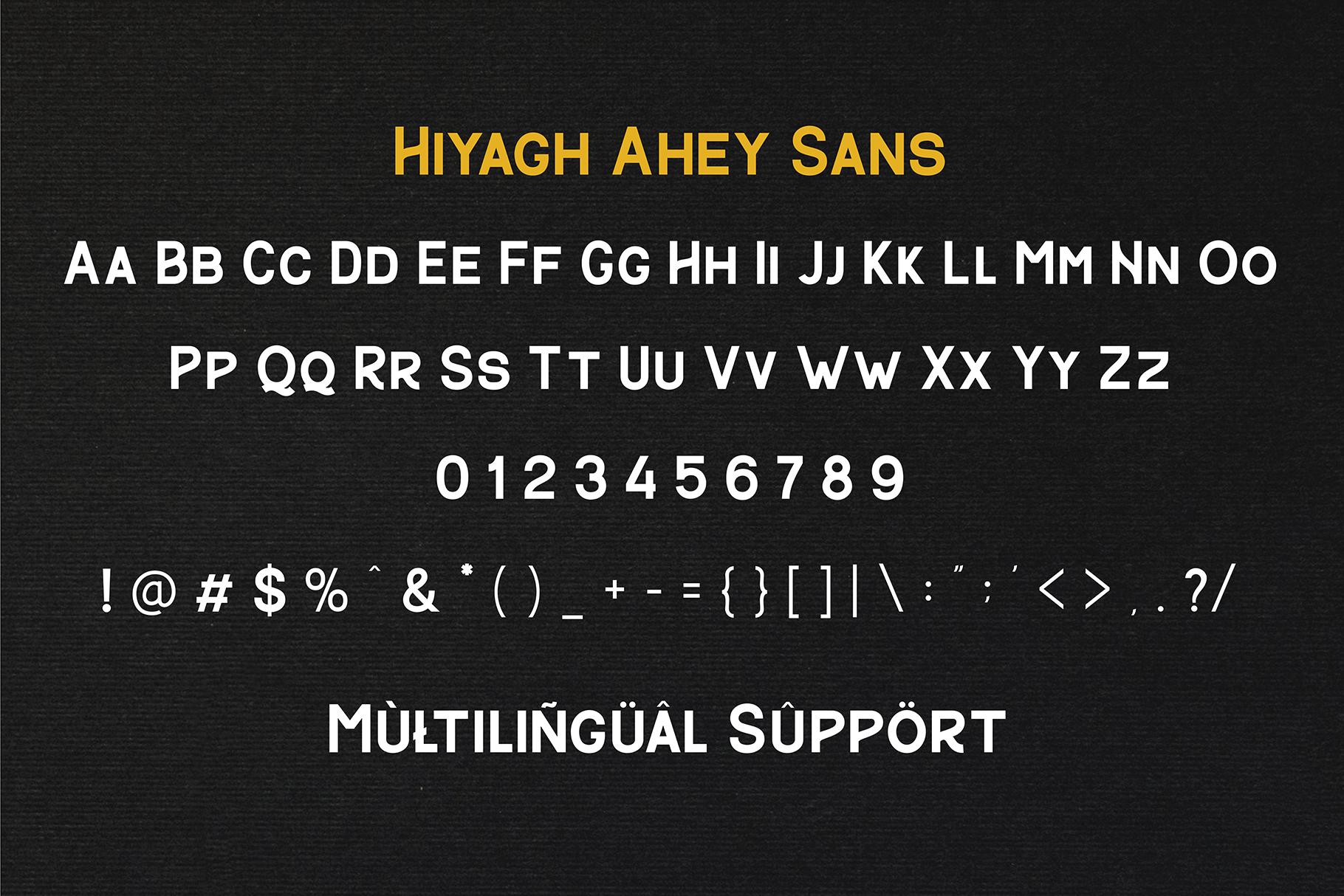 Hiyagh Ahey - Couple Fonts example image 8