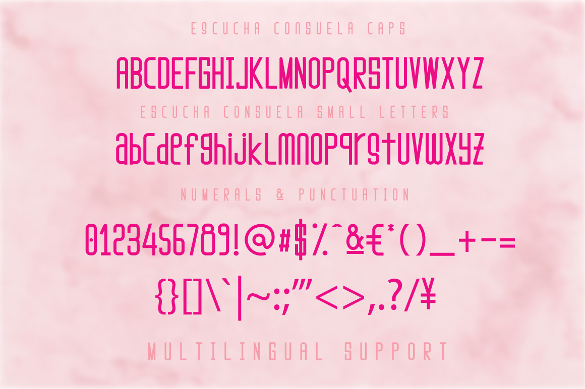 Escucha Consuela Font Duo example image 3