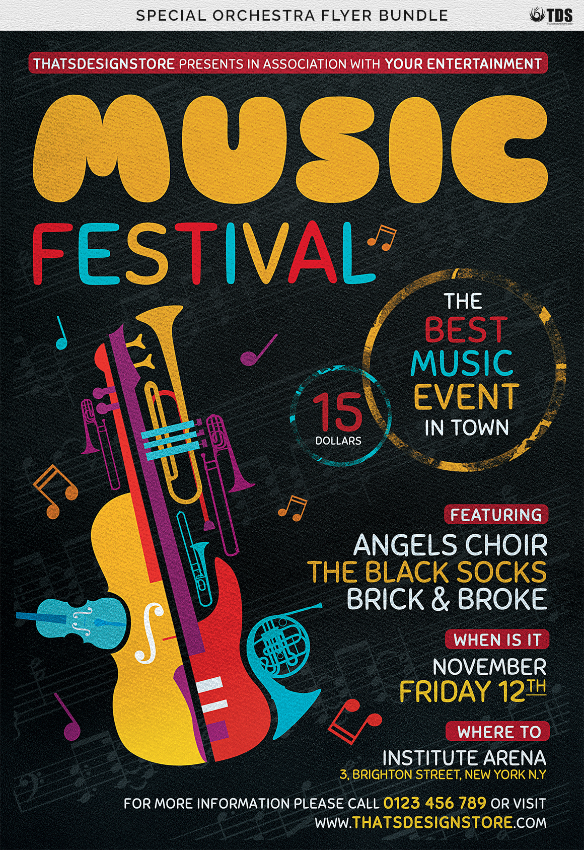 Special Orchestra Flyer Bundle example image 8