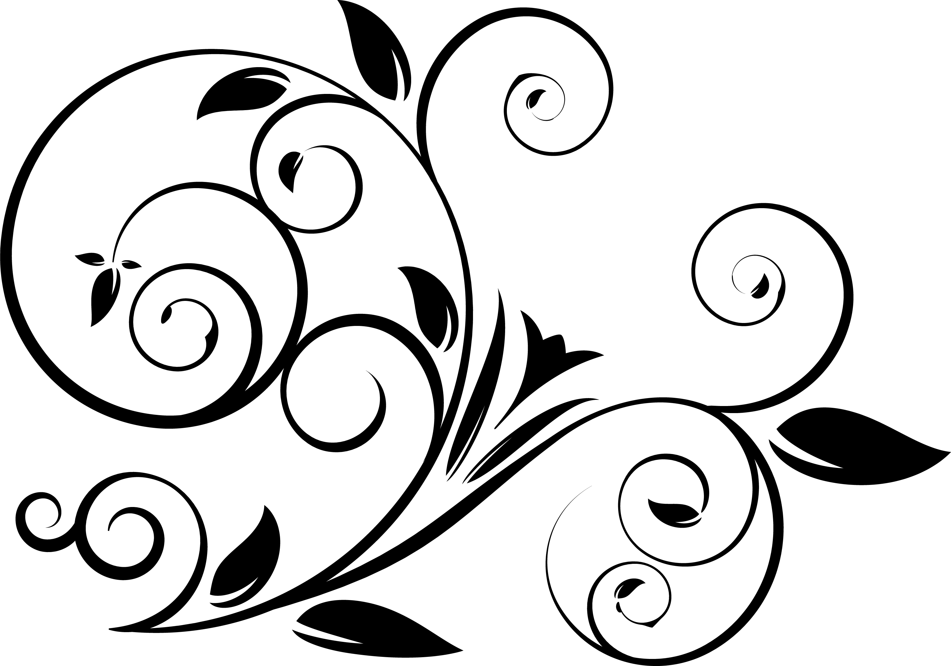 5 Swirl Vectors Svg Dxf Png Jpg Eps vector file Cut Files example image 4