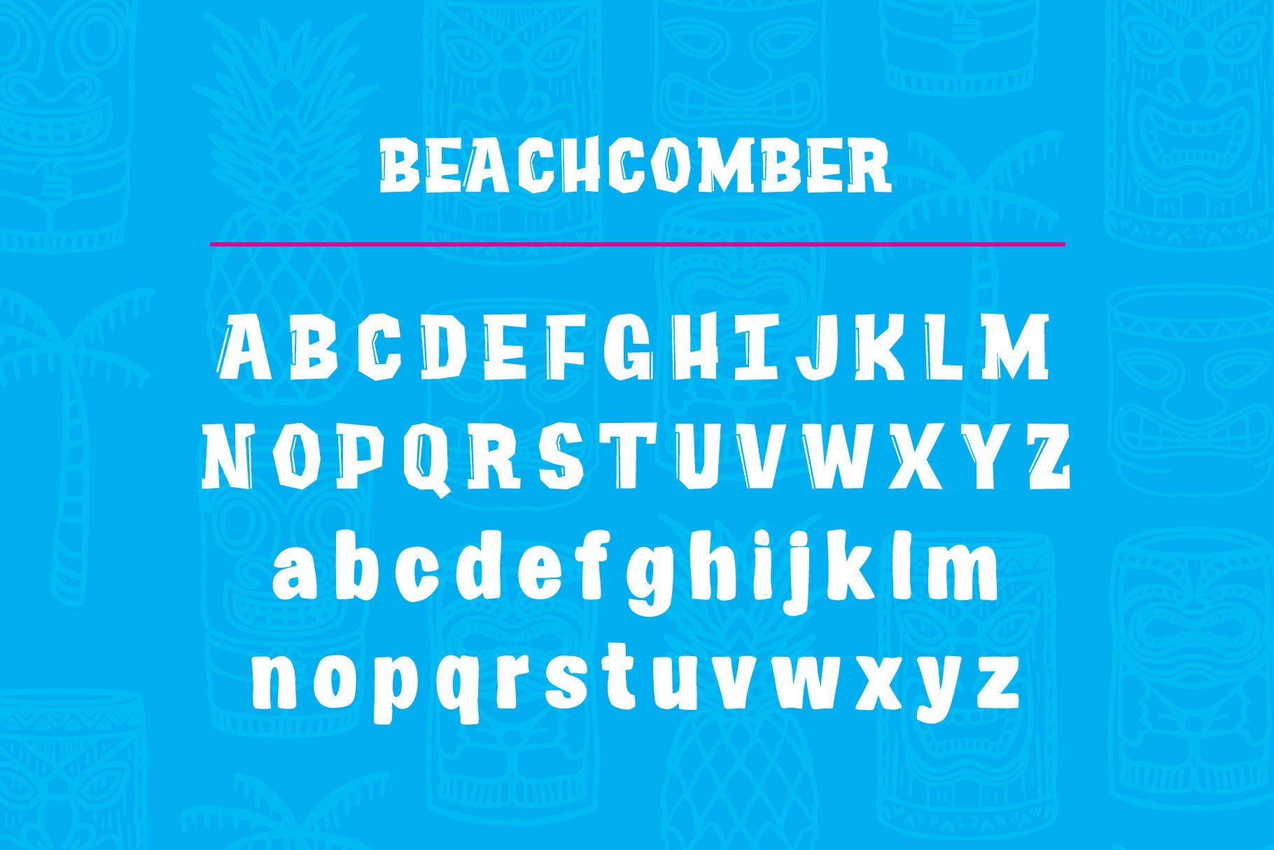Beachcomber Font & Illustrations example image 2